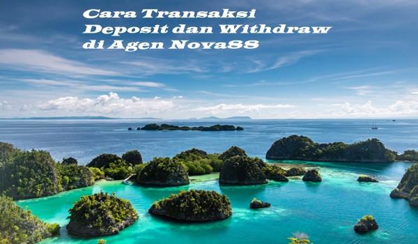 Cara Transaksi Deposit dan Withdraw di Agen Nova88
